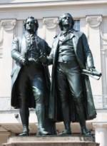 Goethe-Schiller-Denkmal, Foto: Bernd Wurlitzer